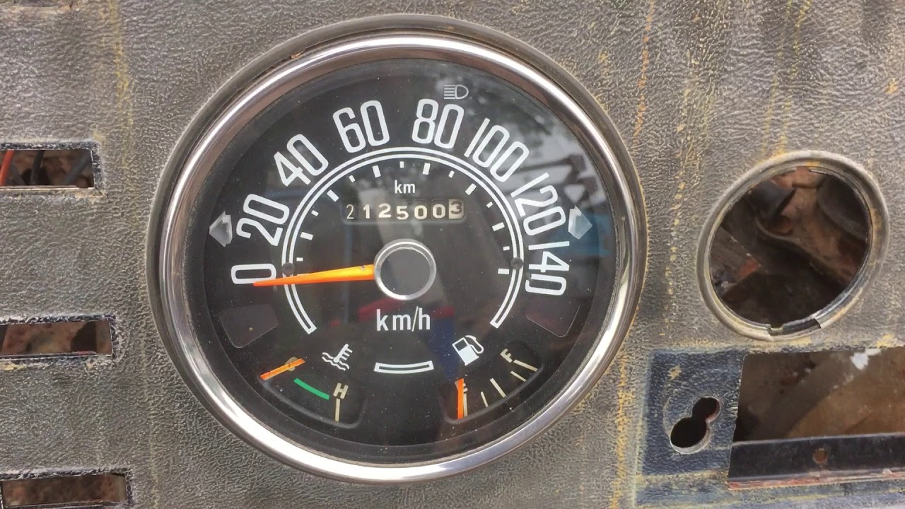 Jeep CJ speedometer wiring and bulb placement - YouTubeYouTube