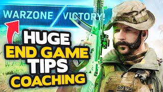 Warzone: How to get BETTER at END GAME - 54 Solo Kills! (Modern Warfare Warzone Tips)
