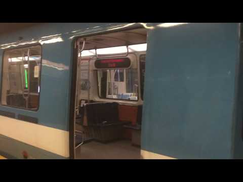 MONTREAL METRO AZUR TAIL-TRACK ACTION