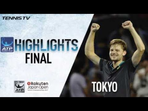 Highlights: Goffin Takes Tokyo 2017 Title