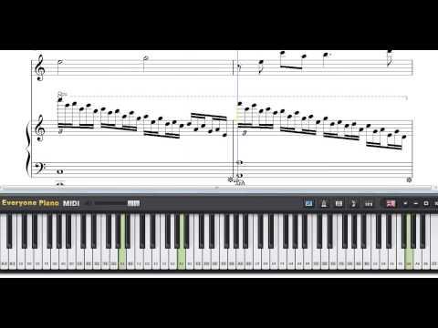 Somewhere in Time   JOHN BEANY Piano Sheet Music Tutorial   YouTube