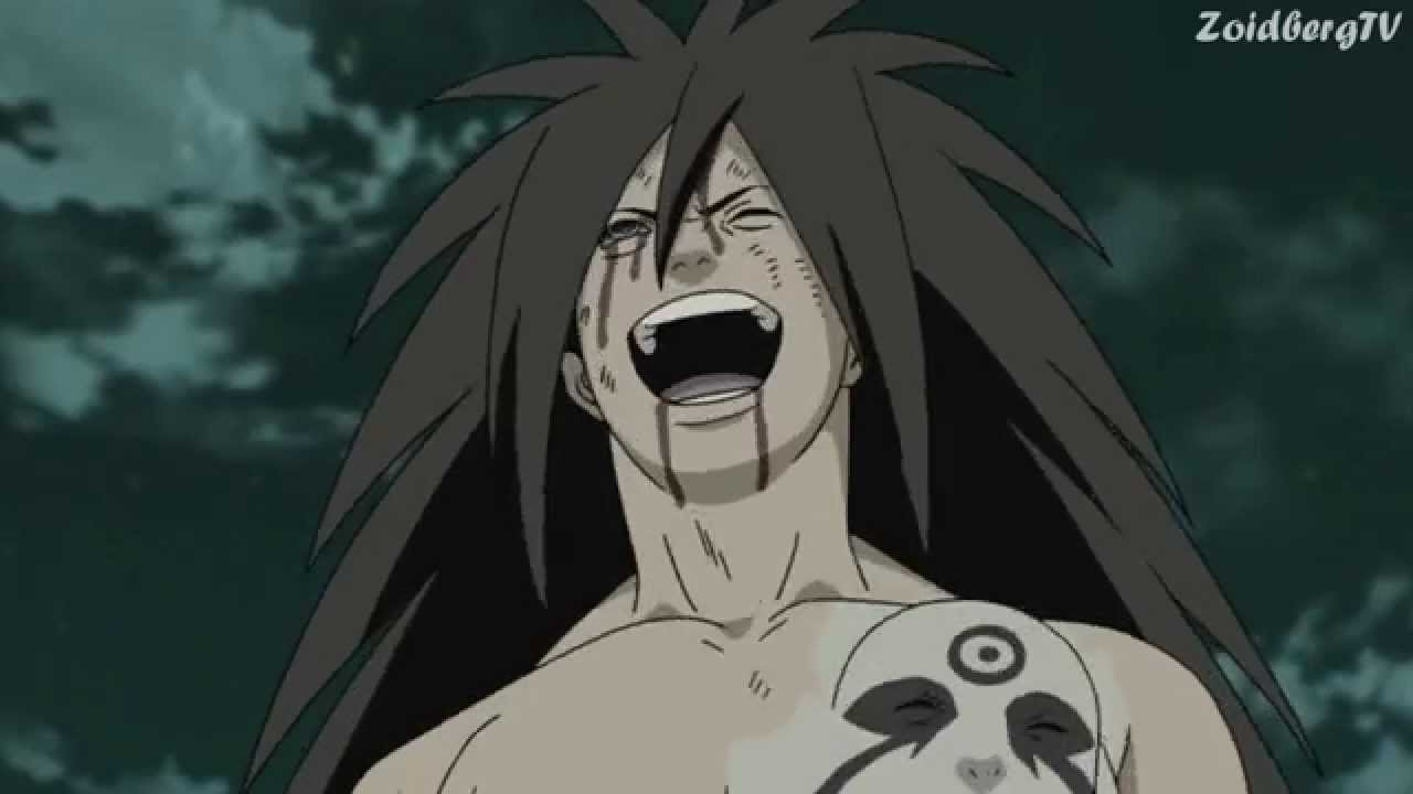 Naruto Shippuden Wallpaper Hd 1080p Shippuuden Madara S Laugh 1080p Youtube