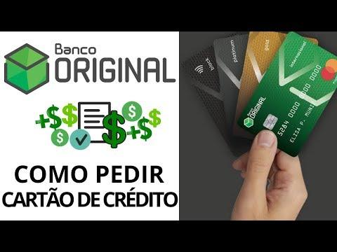 BANCO ORIGINAL   COMO SOLICITAR CARTÃO DE CRÉDITO