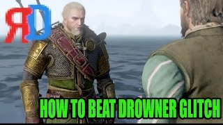 How To Beat Black Pearl Quest Drowner Bug In Witcher 3 Wild Hunt