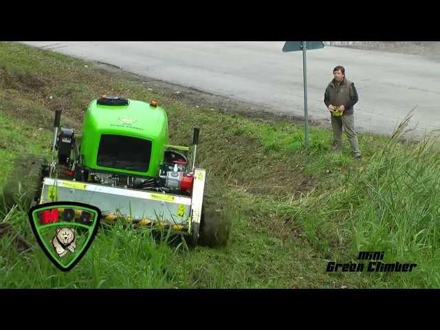 remote controlled flail mower trincia radiocomandata