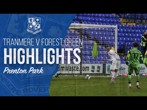 Tranmere Forest Green Goals And Highlights