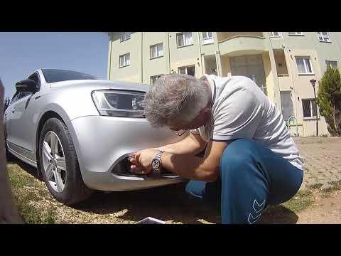 VW JETTA MK6 SİS FARI SÖKÜLÜŞÜ VE LED AMPUL MONTAJI
