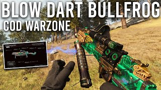 The Blow Dart Bullfrog in COD Warzone is AWESOME!