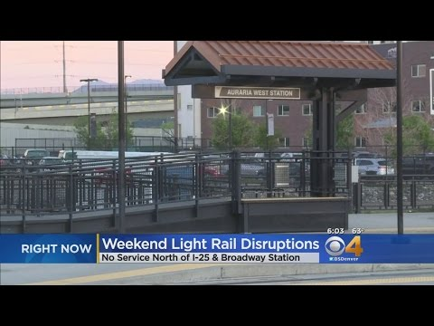 Major Light Rail Disruption For Several Lines This Weekend