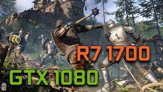 Kingdom Come Deliverance   GTX 1080 G1 Gaming + Ryzen 7 1700   1080p Max Settings  
