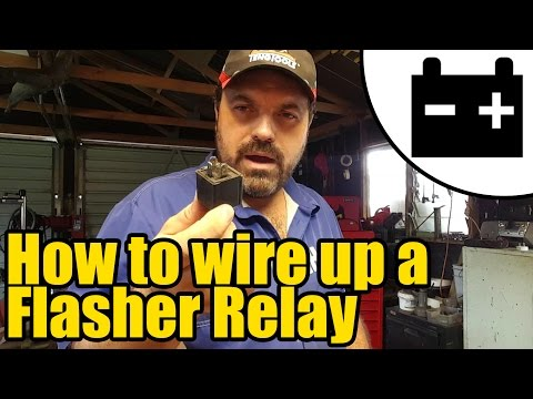 How to wire up a Flasher relay #1927
