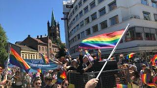 DIREKTE: Pride-paraden i Oslo