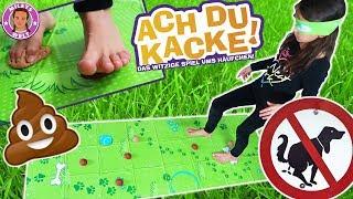 ACH DU KACKE  - Don't step in it !! Spiel - Wer tritt in den Kackhaufen ?? | Mileys Welt