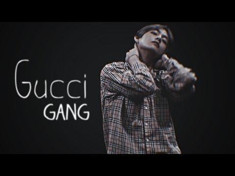 kim taehyung;「gucci gang」
