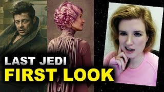 Star Wars The Last Jedi FIRST LOOK Benicio Del Toro & Laura Dern