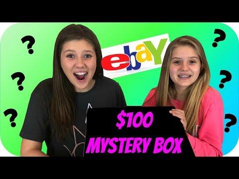 $100 MYSTERY BOX    SURPRISE BOX    EBAY MYSTERY BOX    Taylor and Vanessa