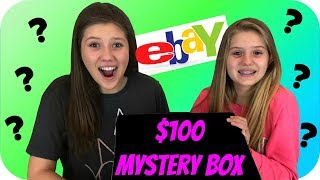 connectYoutube - $100 MYSTERY BOX || SURPRISE BOX || EBAY MYSTERY BOX || Taylor and Vanessa