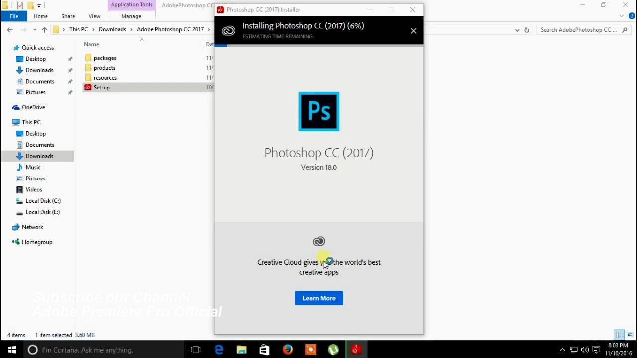 torrent adobe photoshop 2017