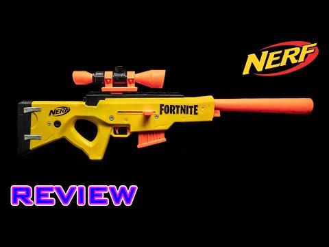 [REVIEW] Nerf Fortnite BASR-L | SNIPER RIFLE, BROS!