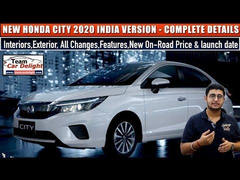 New Honda City 2020 India Launch Date Price Interior