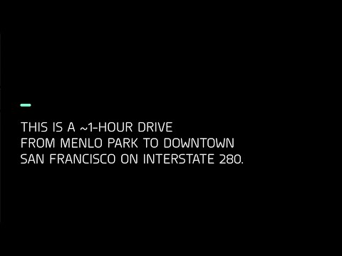 Zoox: ~1-Hour Fully Autonomous Freeway Drive from Menlo Park to San Francisco with Commentary