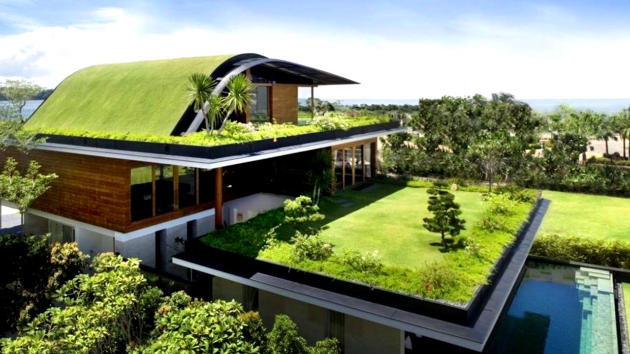 12 Homes With Living Roofs Youtube