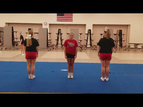 New Palestine Cheer Tryout Video 2017-2018