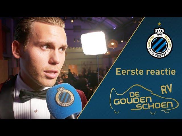 CLUB BRUGGE Gouden schoen Ruud Vormer | Eerste reactie | 2017-2018