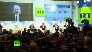 Выступление Джулиана Ассанжа на Международной конференции в честь 10-летнего юбилея RT