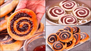 FRIED SWIRL BREAD RECIPE | EGGLESS & WITHOUT OVEN | CHOCOLATE SWIRL BREAD | N'Oven