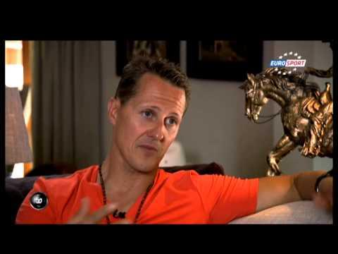 Schumacher at Home  - July 2013 Eurosport