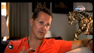Repeat youtube video Schumacher at Home  - July 2013 Eurosport