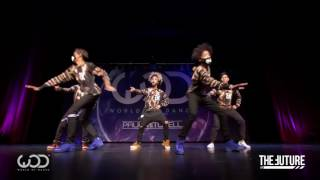 World Of Dance - Chicago 2016 [ The Future Kingz feat Ayo and Teo ] Video