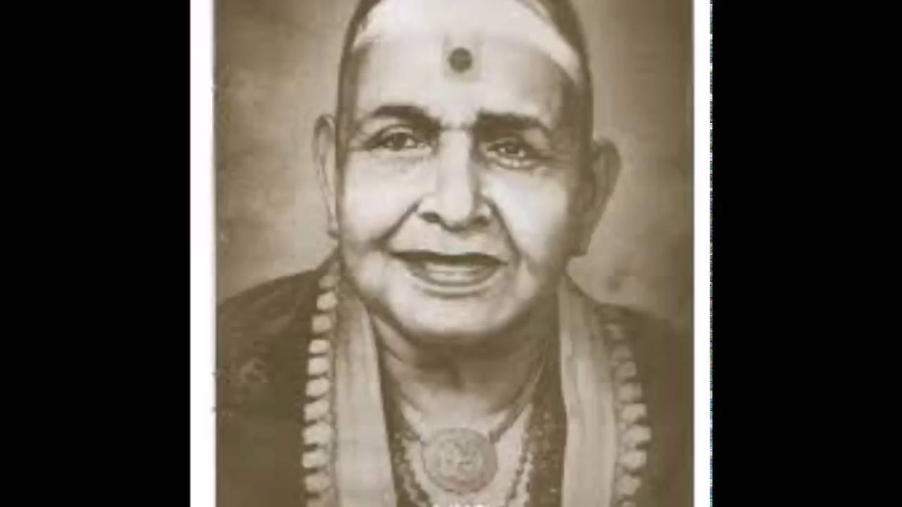 Chembai Vaidyanatha Bhagavathar - Rama Neeyada - Karaharapriya - Thyagaraja