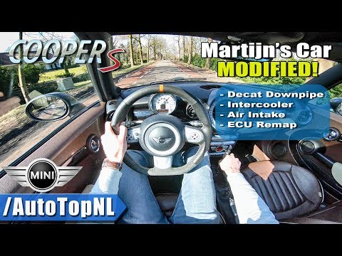 230HP Mini Clubman Cooper S R55 DECAT Exhaust POV Test Drive By AutoTopNL