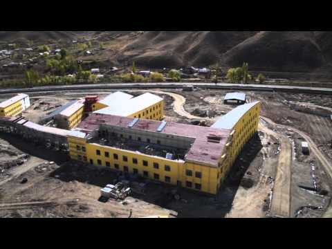 University of Central Asia Naryn Campus - Aerial Perspective