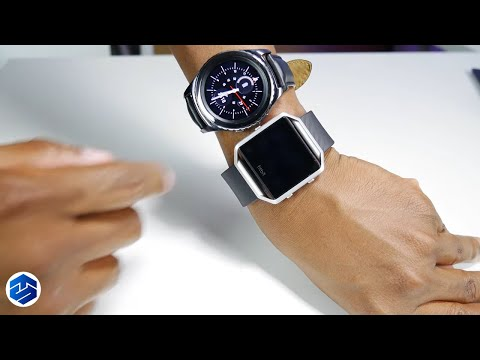 Samsung Gear S2 vs Fitbit Blaze What's The Difference
