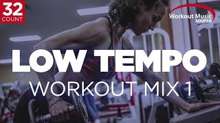 Workout Music Source // Low Tempo Workout Mix 1 // 32 Count (120 BPM)