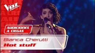 "Bianca Cherutti – ""Hot stuff"" – Audiciones a Ciegas – La Voz Argentina 2021"