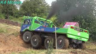 8x8 Truck in Truck trial | Straz Pod Ralskem, Czechia 2018 | no. 534 & 553