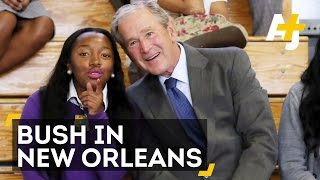 George W. Bush Back In New Orleans 10 Years After Hurricane Katrina