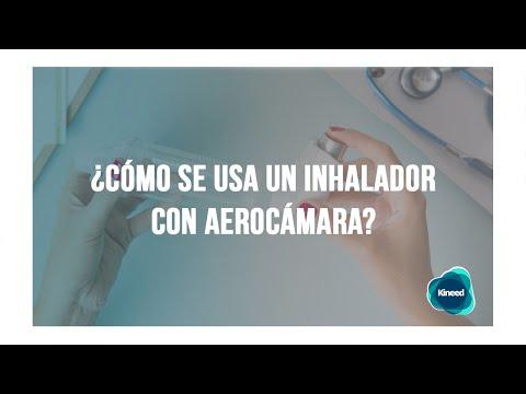 ▷ Cómo usar un inhalador con aerocámara - EL MEJOR MÉTODO