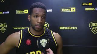 Phill Martin Post Obras Basket 84-88 San Lorenzo (13-10-2017)