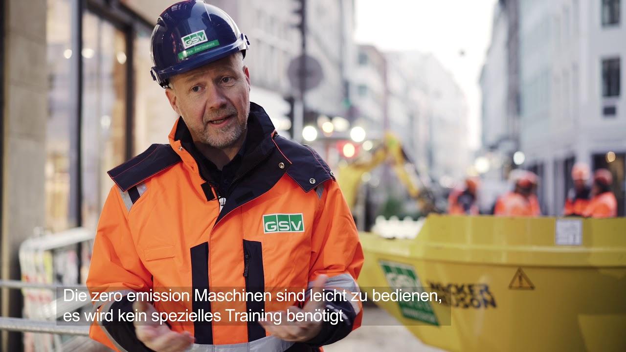 Komplett emissionsfreie Baustelle in Kopenhagen