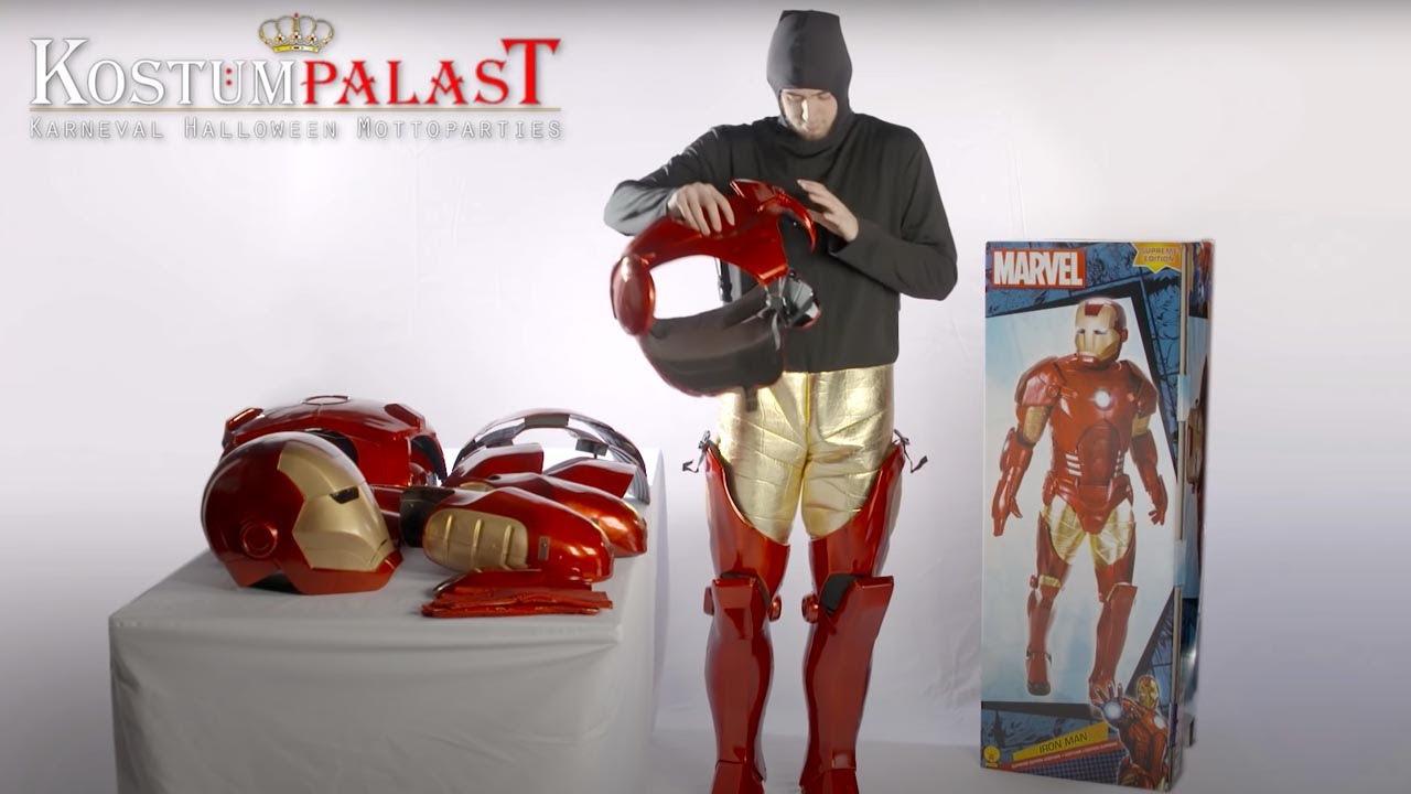 Iron Man Supreme Kostüm - YouTube