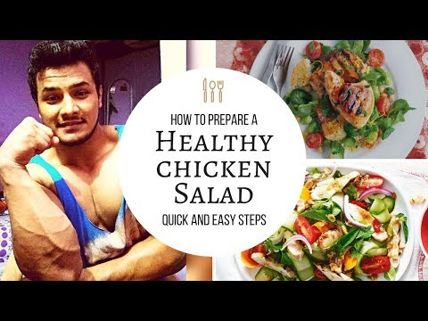 Easy Chicken Salad Recipe | Quick and Healthy Recipe | The Alpha Fitness