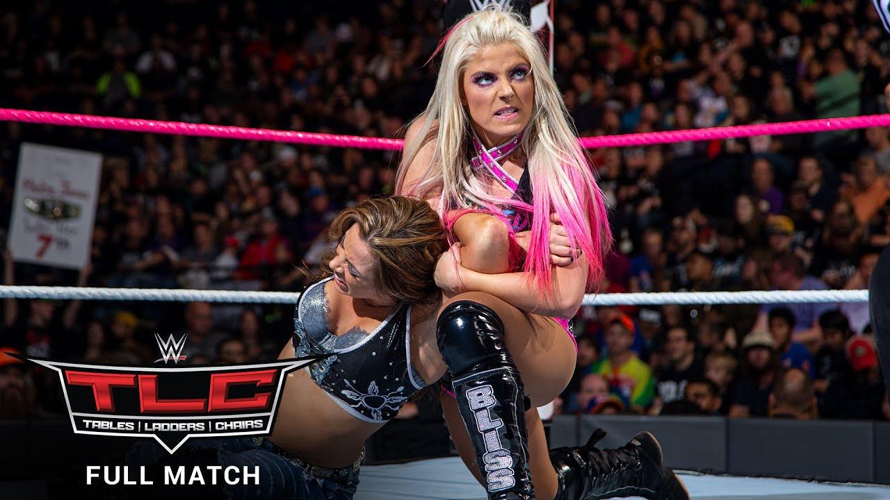 Download FULL MATCH - Alexa Bliss vs. Mickie James – Raw Women's Title Match: WWE TLC 2017