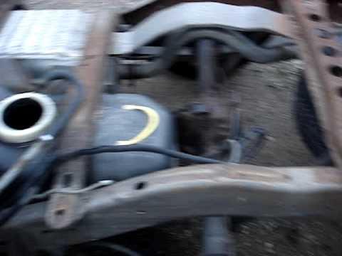 1996 Dodge Dakota Fuel Pump Replacement Part 2 Youtube