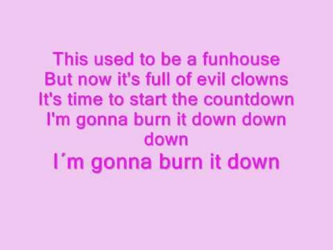 P!nk- Funhouse + Lyrics