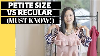 Petite Size 101: How is it different from regular size?